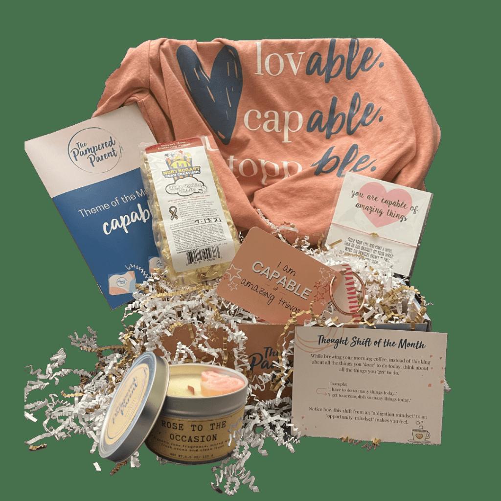 Open box Subscription box for moms